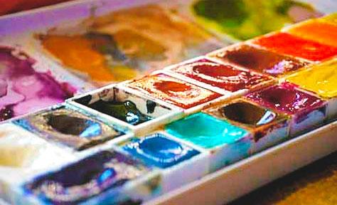 Краски акварельные_фото