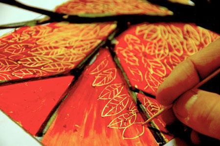 рисунок масляной пастелью фото