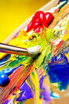 картинка масляных красок